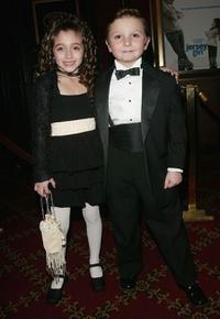 Raquel Castro and Paulie Litt at the premiere of