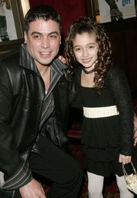 Albi Castro and Raquel Castro at the premiere of