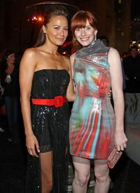 Moon Bloodgood and Bryce Dallas Howard at the after party of the premiere of