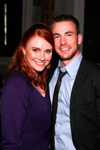 Bryce Dallas Howard and Chris Evans at the after party of the premiere of
