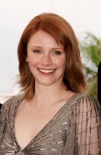 Bryce Dallas Howard at the photocall promoting