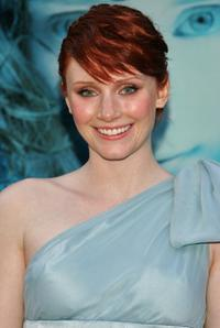Bryce Dallas Howard at the premiere of