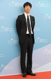 Ryo Kase at the photocall of