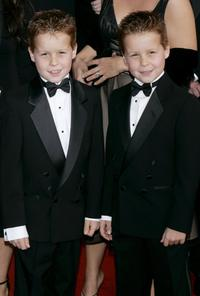 Brent Kinsman and Shane Kinsman at the 12th Annual Screen Actors Guild Awards.