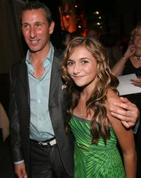 Adam Shankman and Alyson Stoner at the after party of the premiere of