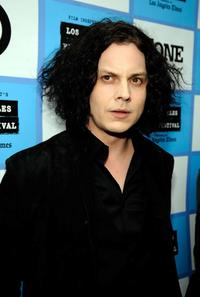 Jack White at the California premiere of