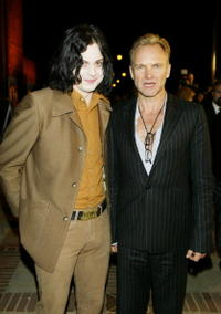 Jack White and Sting at the Words and Music of Cold Mountain.