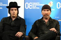 Jack White and The Edge at the 2008 Toronto International Film Festival.