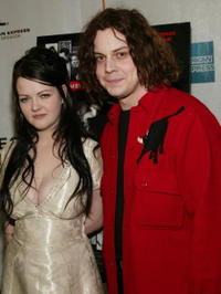 Meg and Jack White at the New York premiere of