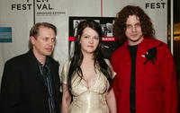 Steve Buscemi, Meg White and Jack White at the New York premiere of