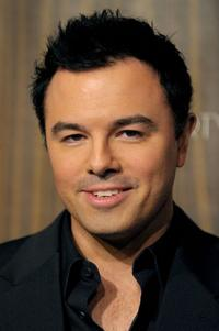 Seth MacFarlane at the Fox Winter 2010 All-Star Party.