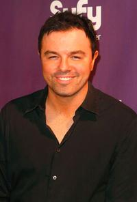 Seth MacFarlane at the Comic-Con 2009.