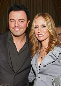 Seth MacFarlane and Dana Walden at the UCLA Jonsson Cancer Center Foundation's