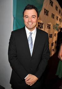 Seth MacFarlane at the 2009 FOX Winter All-Star Party.
