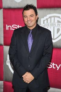 Seth MacFarlane at the 66th Annual Golden Globe Awards.