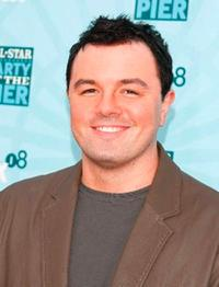 Seth MacFarlane at the FOX All-Star Party.
