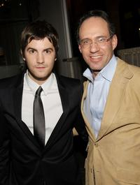 Jim Sturgess and Andrew Saffir at the after party screening of