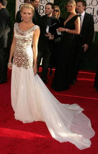Sienna Miller at the 64th Annual Golden Globe Awards.