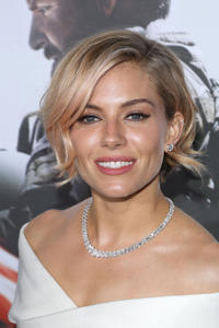Sienna Miller at the New York premiere of