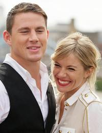 Channing Tatum and Sienna Miller at the photocall of