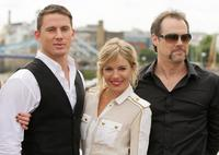 Channing Tatum, Sienna Miller and Stephen Sommers at the photocall of