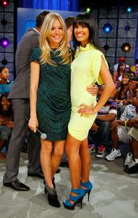 Sienna Miller and Rocsi at the BET's