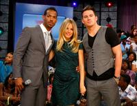 Marlon Wayans, Sienna Miller and Channing Tatum at the BET's