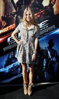 Sienna Miller at the press conference of