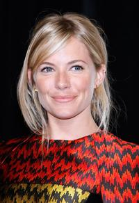 Sienna Miller at the ShoWest awards ceremony.