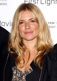 Sienna Miller at the First Light Movie Awards.