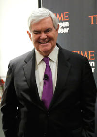 Newt Gingrich at the TIME's Person of the Year Panel.
