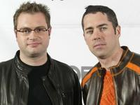 Stephen Page and Ed Robertson at the JUNO Awards ceremony.