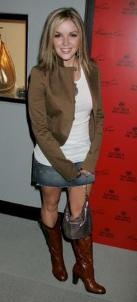 Corri English at the opening of new Kenneth Cole New York's Los Angeles flagship store.
