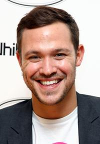 Will Young at the TOD's Art Plus film party.