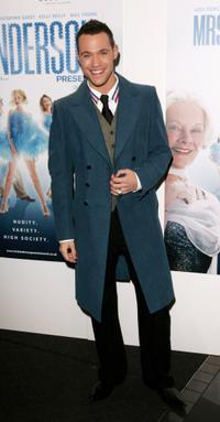 Will Young at the UK premiere of