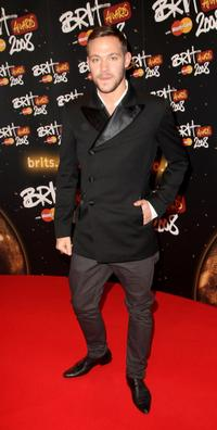 Will Young at the BRIT Awards 2008.