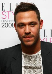 Will Young at the Elle Style Awards 2008.
