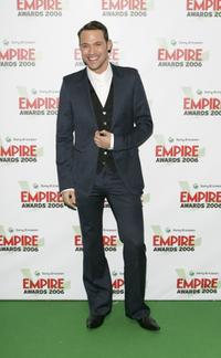 Will Young at the Sony Ericsson Empire Film Awards 2006.