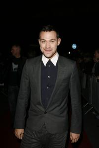 Will Young at the opening night of