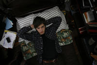 Freddie Highmore as George Zinavoy in ``The Art of Getting By.''