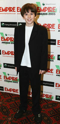 Freddie Highmore at the Sony Ericsson Empire Film Awards 2005 in London.