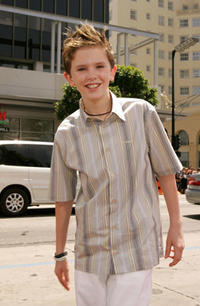 Freddie Highmore at the Hollywood premiere of