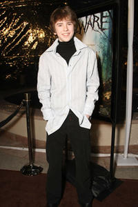 Freddie Highmore at the L.A. premiere of