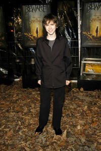 Freddie Highmore at a N.Y. screening of