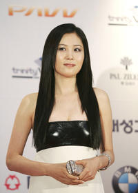 Moon So-ri at the 43rd Annual Daejong Film Festival.