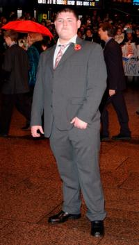 Jamie Waylett at the world premiere of