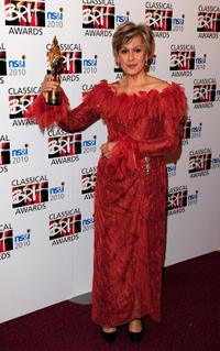Kiri Te Kanawa at the Classical BRIT Awards 2010.