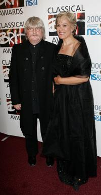 Karl Jenkins and Kiri Te Kanawa at the Classical Brit Awards 2006.