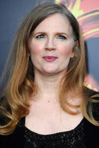 Suzanne Collins at the California premiere of