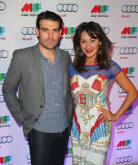 Rohan Nichol and Peta Sergeant at the Australian premiere of